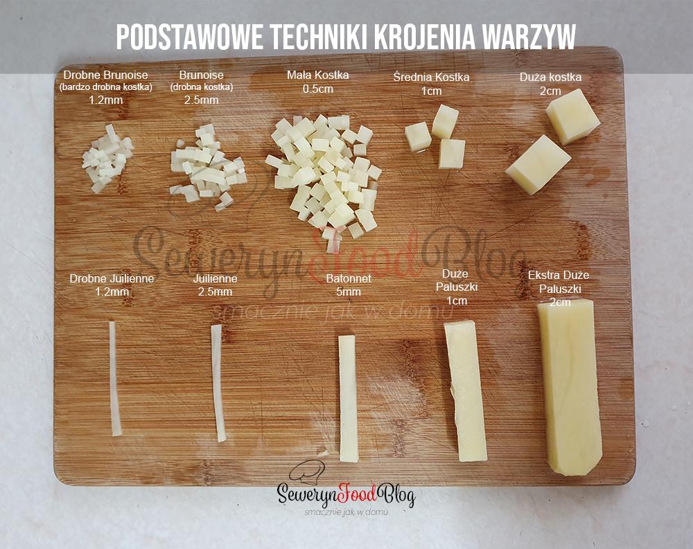 Podstawowe Technik Krojenia warzyw