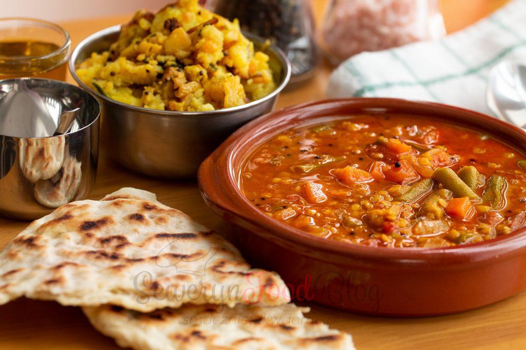 Sambar przepis- Indyjska zupa z soczewicy