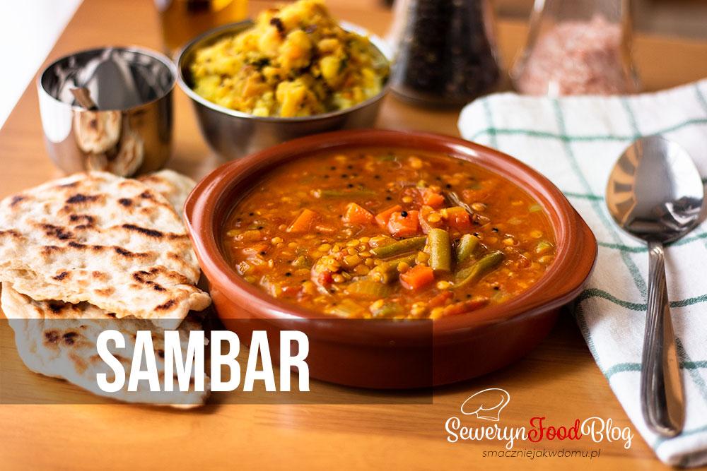 Sambar - Przepis - Indyjska zupa z soczewicy Oryginalny