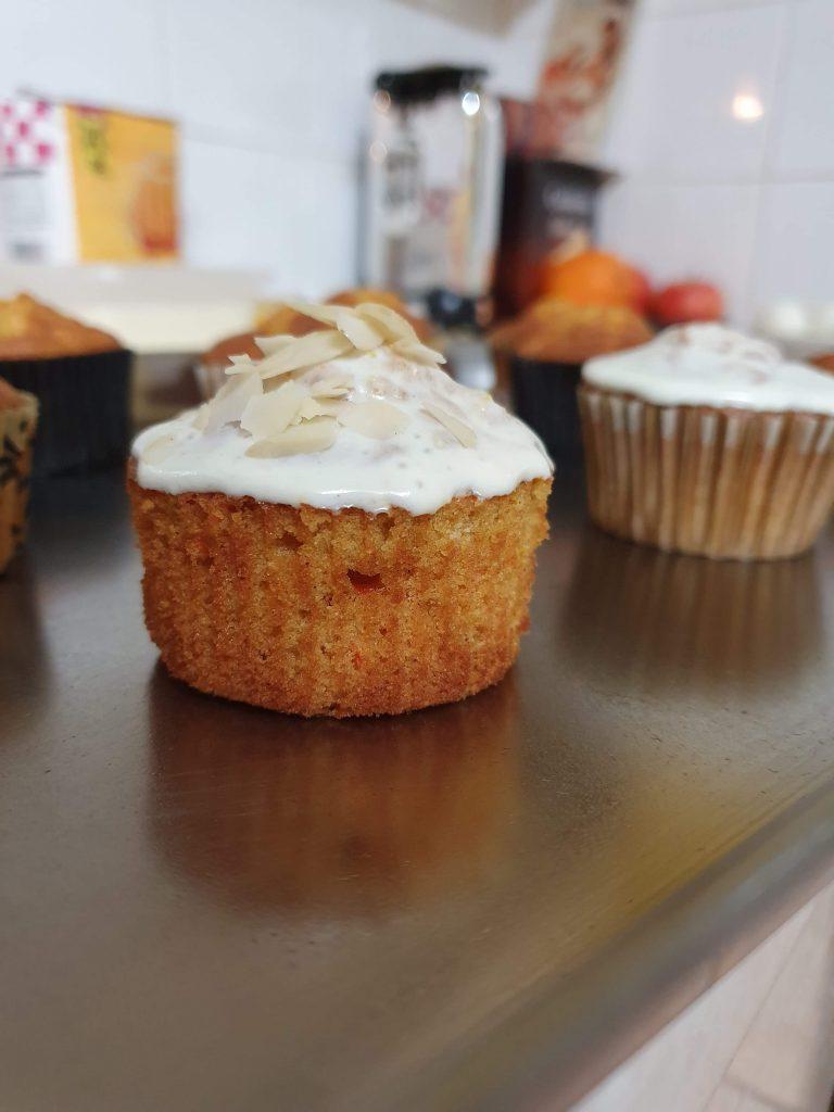 Muffinki Marchewkowe Przepis - Carrot cake muffins