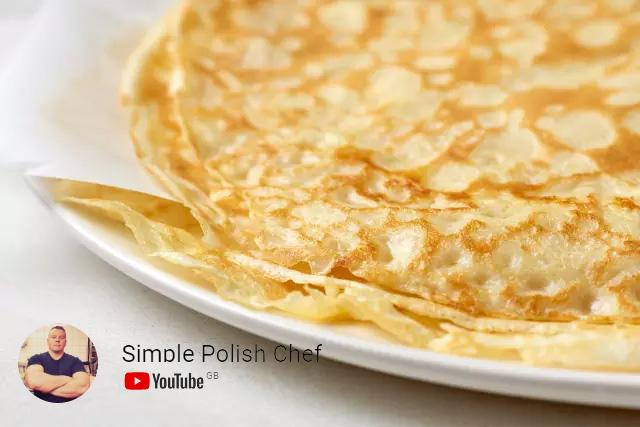 nalesniki magda gessler przepis najlepsze classic crepes simple polish chef seweryn